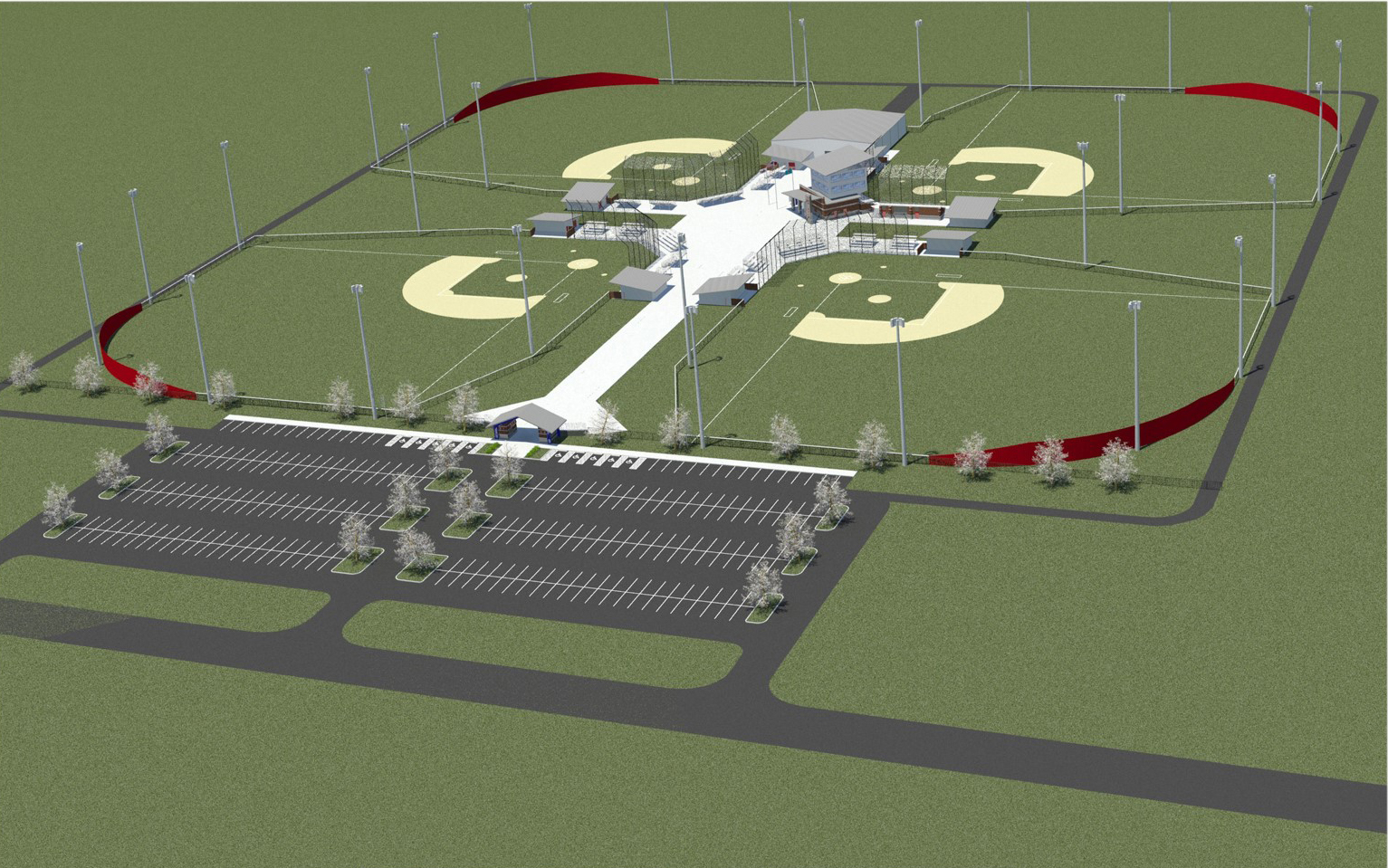 Future SSC Baseball Complex