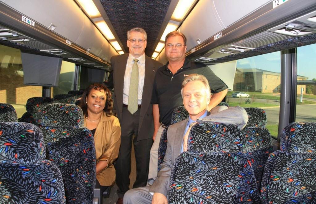 SSC Foundation Trustees Tour New Bus