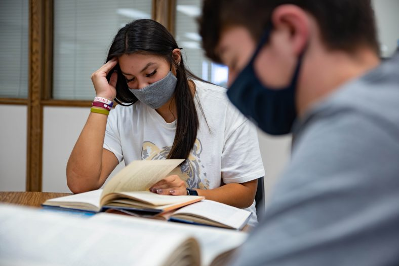Seminole State College Students study