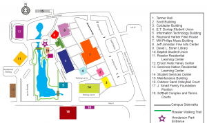 ssc site map
